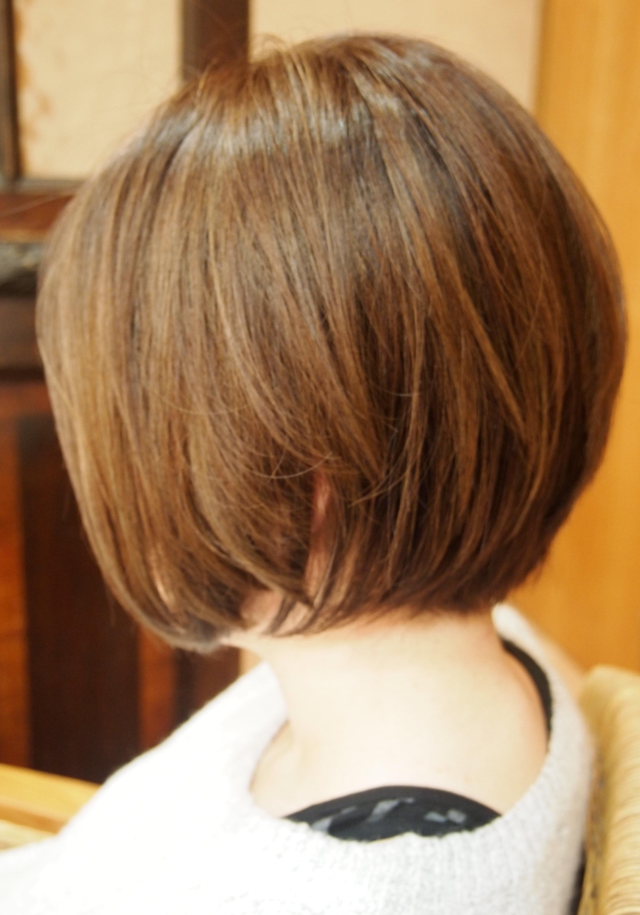 👆50 代 髪型 ショート 前髪 あり